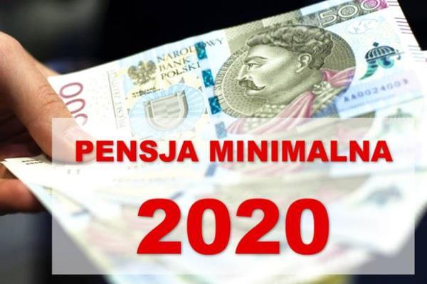 Pensja minimalna 2020. Ile na rękę?